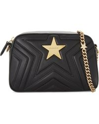 Stella McCartney - Star Faux-leather Cross-body Camera Bag - Lyst