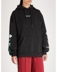 Wasted Paris - Real Lies Cotton-jersey Hoody - Lyst