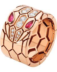 BVLGARI - Serpenti Seduttori 18kt Pink-gold - Lyst