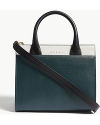 Marni - Ladies White And Green Top Handle Bag - Lyst