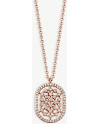 Astley Clarke - Icon Nova 14ct Rose-gold And Diamond Necklace - Lyst