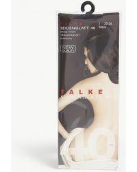 Falke - Seidenglatt 40 Knitted Knee-high Socks - Lyst