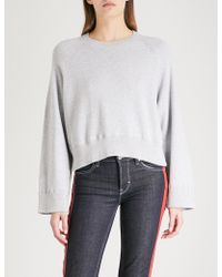 Zadig & Voltaire - Lea Brushed-cotton Jumper - Lyst