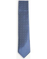 Charvet - Printed Silk Jacquard Tie - Lyst