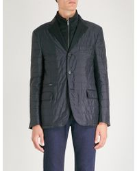 Corneliani - Regular-fit Quilted Shell Jacket - Lyst