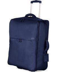 Lipault - Foldable Two-wheel Trolley Suitcase 75cm - Lyst