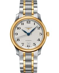 Longines | L2.628.5.78.7 Master Collection Stainless Steel And 18ct Gold Watch | Lyst
