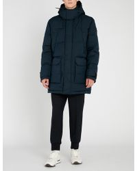 BOSS - Padded Down-filled Parka - Lyst