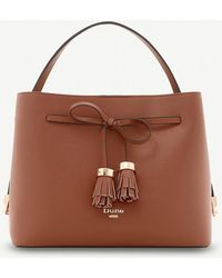 Dune - Dinidess Tassel And Bow-detail Shoulder Bag - Lyst