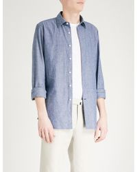 Slowear | Slim-fit Cotton Shirt | Lyst