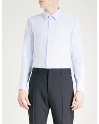 Slowear | Striped Tailored-fit Cotton Shirt | Lyst