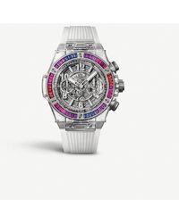 Hublot Big Bang Tourbillion Power Reserve 5 Days Full Magic Gold Limited Edition Mens Watch - Metallic