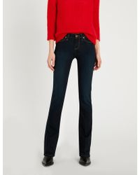 PAIGE - Manhattan Mid-rise Slim-fit Jeans - Lyst