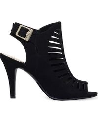 Nine West - Suite Peep-toe Cut-out Sandals - Lyst