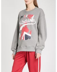 D-ANTIDOTE | Logo-print Cotton-jersey Sweatshirt | Lyst