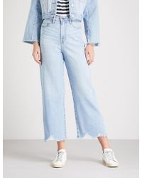 Nobody Denim - Freya Wide-leg High-rise Jeans - Lyst