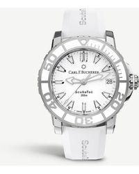 Carl F. Bucherer - 00.10634.23.23.01 Scuba Tec Watch - Lyst