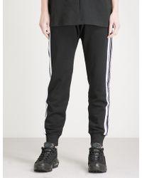 BOY London   Side-stripe Cotton-jersey Jogging Bottoms   Lyst