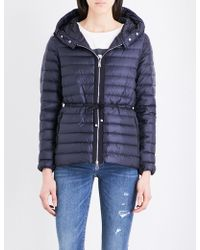 Moncler - Raie Quilted Coat - Lyst