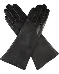 Dents - Helene Cashmere-lined Leather Gloves - Lyst