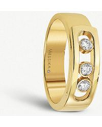 Messika - Move Noa 18ct Yellow-gold And Diamond Ring - Lyst
