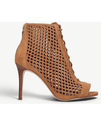 Nine West - Moustique Leather Booties - Lyst