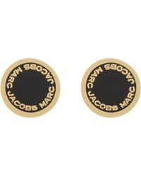 Marc Jacobs - Enamel Disc Stud Earrings - Lyst