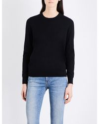 Burberry - Elbow-patch Wool Jumper - Lyst