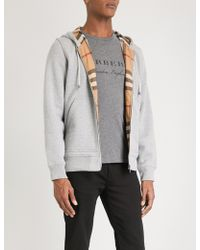 Burberry - Fordson Cotton-blend Hoody - Lyst
