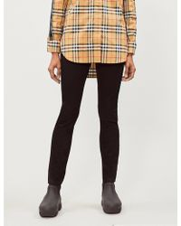 Burberry - Ruckley Skinny Mid-rise Jeans - Lyst