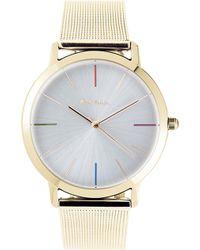 Paul Smith - P10101 Ma Gold Watch - Lyst