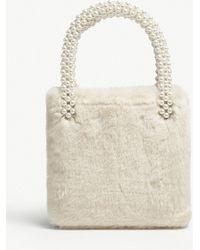 Shrimps - Una Faux-fur Bag - Lyst