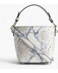 Kate Spade - Hayes Street Pippa Snake-embossed Leather Shoulder Bag - Lyst