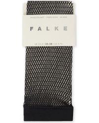 Falke - Fishnet Knee-high Socks - Lyst