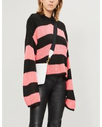 The Ragged Priest - Striped Knitted Jumper - Lyst