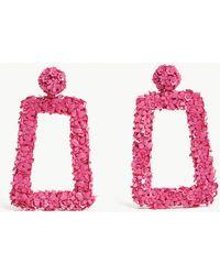 Sachin & Babi - Fleur Dusk Glass Bead And Sequin Earrings - Lyst
