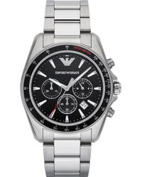 Emporio Armani - Stainless Steel Watch - Lyst