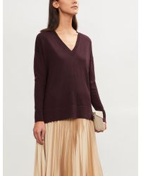 The White Company - Ribbed Merino Wool Jumper - Lyst