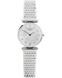 Longines - L42094876 La Grande Classique Watch, Women's, Steel - Lyst