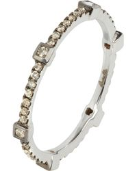 Annoushka - Pavilion Brown 18ct White-gold And Diamond Ring - Lyst