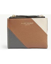 Kurt Geiger - Saff Mini Leather Purse - Lyst