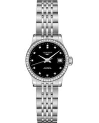 Longines - L23200576 Record Automatic Embellished Stainless Steel Watch - Lyst