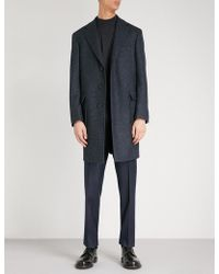 Canali - Kei-fit Wool Coat - Lyst