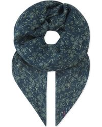 The Kooples - Waterlily Print Modal-silk Blend Scarf - Lyst
