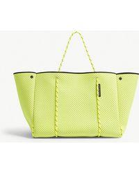 STATE OF ESCAPE - Neon Yellow Neoprene Tote Bag - Lyst