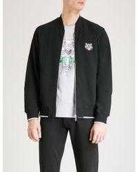 KENZO - Tiger-crest Cotton-jersey Bomber Jacket - Lyst