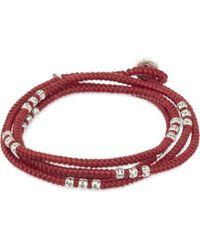 M. Cohen - Knotted Bead Wrap Bracelet - Lyst