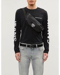 Ck Jeans - Institutional Logo-print Cotton-jersey T-shirt - Lyst