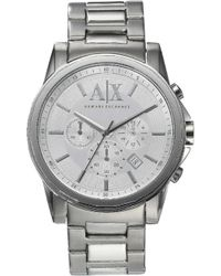 Armani Exchange - Ax2058 Stainless Steel Watch - Lyst