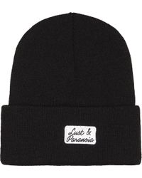 Born X Raised - Lust & Paranoia Knitted Beanie - Lyst